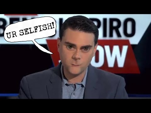 Ben Shapiro Says Those Who Don't Have Kids Are Selfish - The Amazing Atheist vs. Ben Shapiro