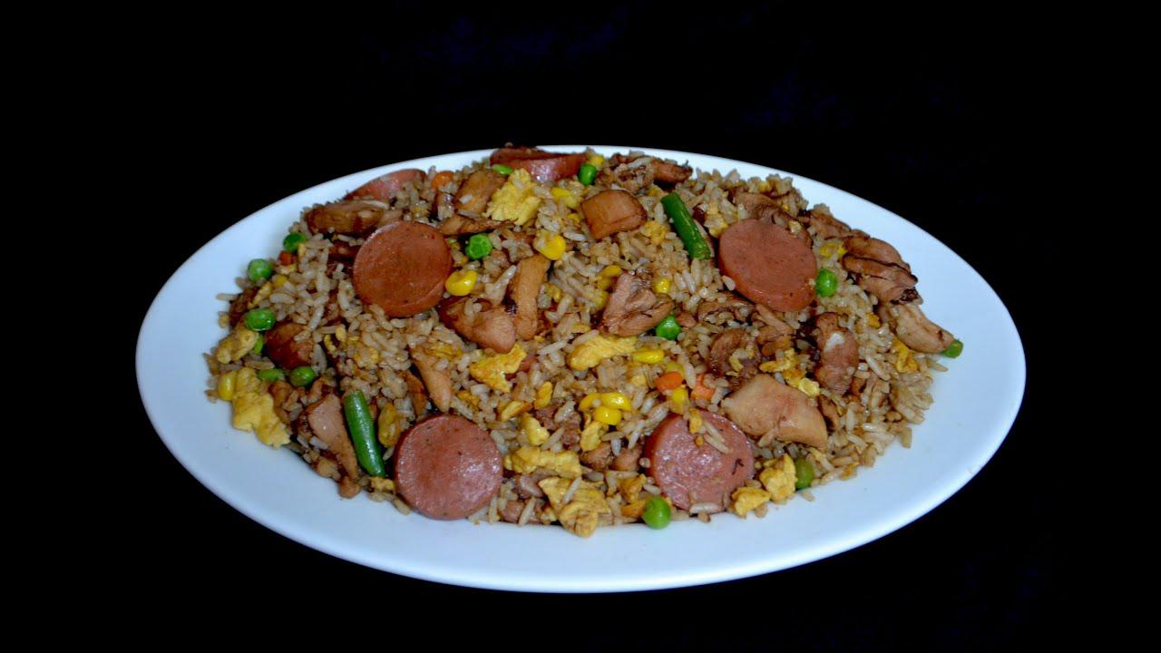 arroz en coca cola y carnes