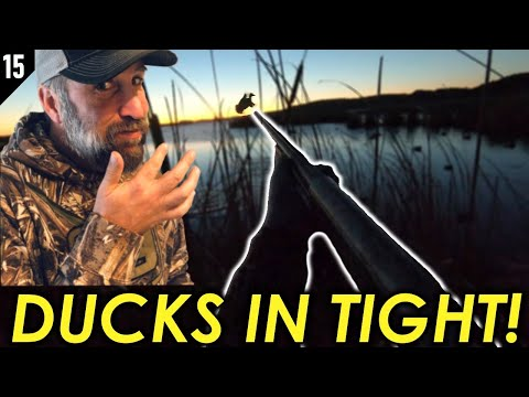 Epic Solo Duck Hunt! High Prairie Sportsman Review!