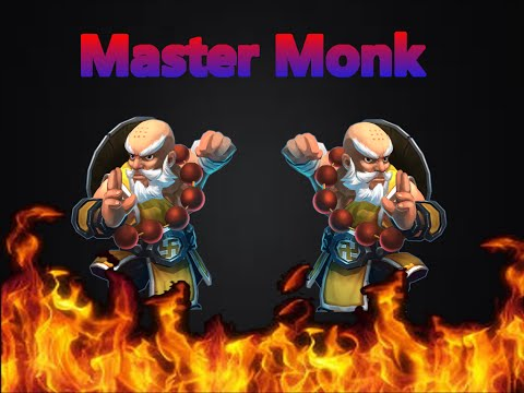 Castle Clash Tencent Version Master Monk Gameplay