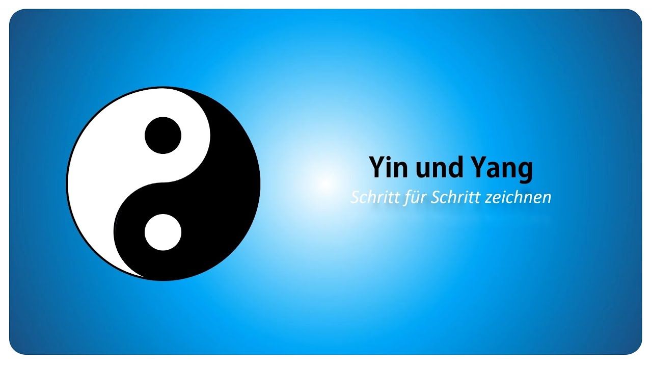 tutorial yin und yang symbol schritt f r schritt zeichnen youtube. Black Bedroom Furniture Sets. Home Design Ideas