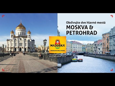 ma3oska travel  - Moskva + Petrohrad fullhd