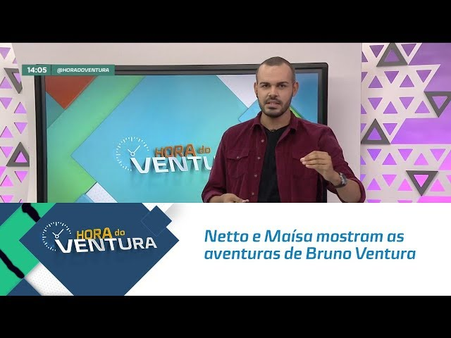 Netto e Maísa mostram as aventuras de Bruno Ventura em Portugal - Bloco 01