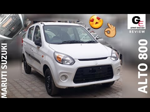 2018 Maruti Suzuki Alto 800 VXI | with music system | detailed review | features | specs | price !!!