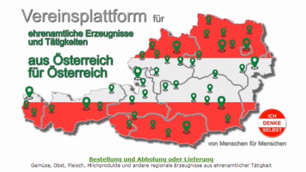 PLATTFORM von MENSCHEN für MENSCHEN: IchDenkeSelbst.at - Funktionsübersicht