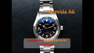 The Affordable Rolex Explorer Alternative - Armida A6 (Full Review) YouTube Videos