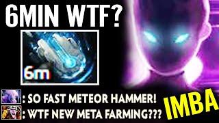6MIN Meteor Hammer WTF!!? 100% New Meta Crazy Farming Best Spectre Top Immortal Dota 2 Pro Gameplay