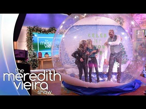 Boris Kodjoe Plays 'Celeb In A Snow Globe'! | The Meredith Vieira Show