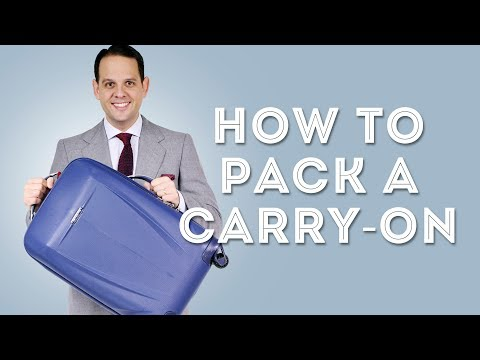 How To Pack A Carry-On Suitcase For A Short Business Trip - Packing Tips & Hacks From a Travel Pro