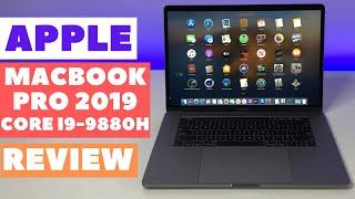 Apple Macbook Pro 15 (2019) Review Intel Core i9-9880H (8 Core) - AMD Radeon Pro 560X