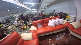 Furniture at SM Mega Mall, Mega Trade Hall. Ortigas, Philippines.