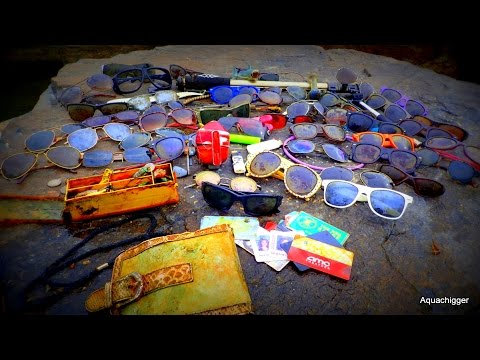 River Treasure: 50 Pairs of Sunglasses, Gold Ring and MOAR!