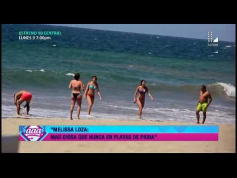 Melissa Loza: con bikini de infarto, la † Diosa † se luce en playas de Piura