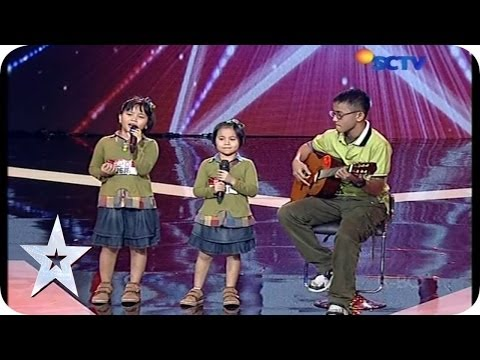 Golden Buzzer Moment from Jay - The Blessing - AUDITION 6 - Indonesia's Got Talent