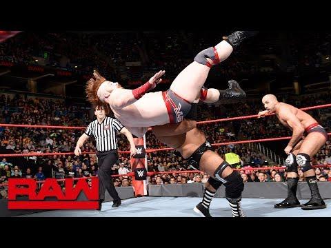The Revival vs. Sheamus & Cesaro: Raw, March 5, 2018