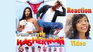 THE WASHERMAN OFFICIAL MOVIE TRAILER REACTION!