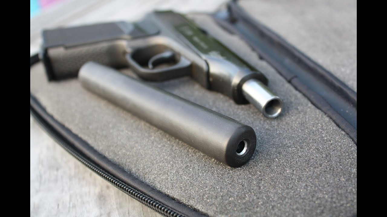 How to build a suppressor/silencer like a professional