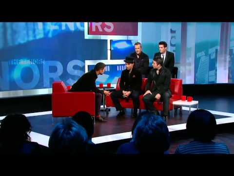 The Tenors On George Stroumboulopoulos Tonight: INTERVIEW