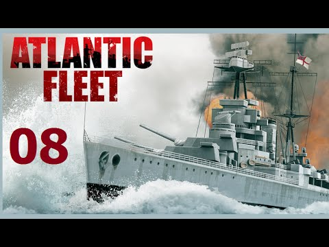 Atlantic Fleet | Let's Play Germany - 08 [CV] Courageous Victory
