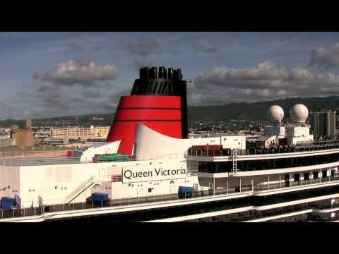 MS Queen Victoria visits Honolulu