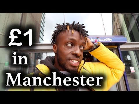 £1 in Manchester | everything is FREE ...but the time