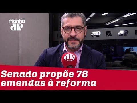 Bruno Garschagen: Senado assumiu responsabilidade de aprimorar reforma