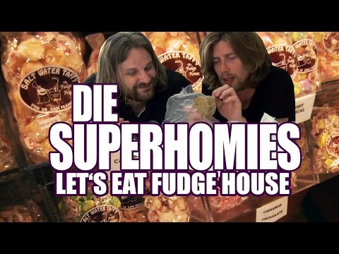 Download Youtube: Die Superhomies in den USA - Let's Eat Fudge House: FETT und Schokolade (mit Gronkh und Sarazar)