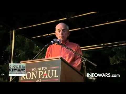 Ron Paul Warns of False Flag ∞ UT Austin Town Hall Speech on Restoring America 2012 Revolution