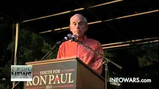 Ron Paul Warns of False Flag ∞ UT Austin Town Hall Speech on Restoring America 2012 Revolution