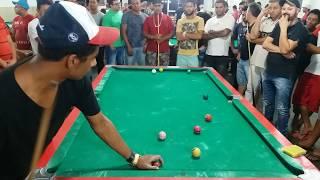 Maicon de Teixeira de Freitas vs Esquerdinha, par ímpar no CAMP NOU da sinuca, VÍDEO 02
