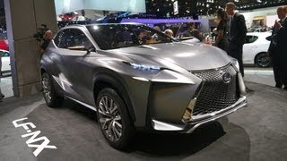 Lexus LF-NX Turbo Concept 2013 Videos