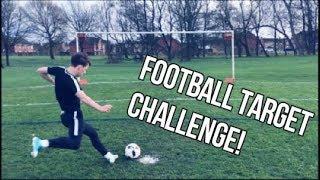 INSANE FOOTBALL TARGET CHALLENGE! 😱⚽️