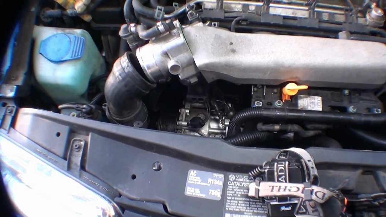 Mk4 Jetta 1.8T thermostat location
