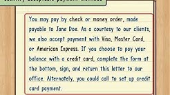 How to Write a Payment Reminder
