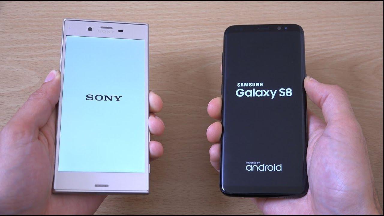 Sony Xperia XZs vs Samsung Galaxy S8 - Speed Test!