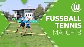 Spannung bis zum Ende – Fußball-Tennis mit Weghorst, Camacho, Mehmedi und Co.