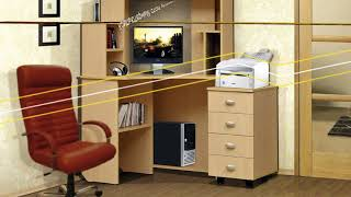 Обзор компьютерных и письменных столов интернет-магазина Мебелька