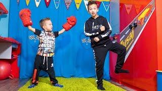 Играем в СМЕШНУЮ Игру! ПРОИГРАВШИЙ Танцует SKIBIDI CHALLENGE !