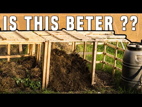 Three Bin Composting System - Best & Easy Compost Bin DIY Upgrade! (With Wood Boards)