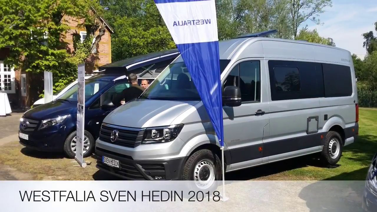westfalia 2018 der sven hedin auf dem neuen vw crafter. Black Bedroom Furniture Sets. Home Design Ideas