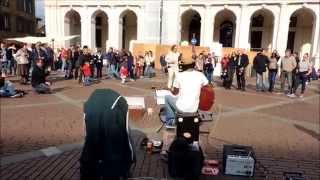 RING OF FIRE - Edwin One Man Band - Folk N' Roll Tour 2014 - Bergamo
