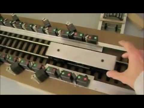 Replication of Howard Johnson's most famous linear magnetic motor.