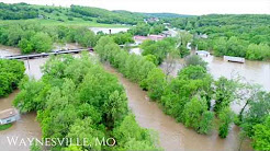 Flooding in Waynesville, Mo - Pulaski County Area 4-30-2017