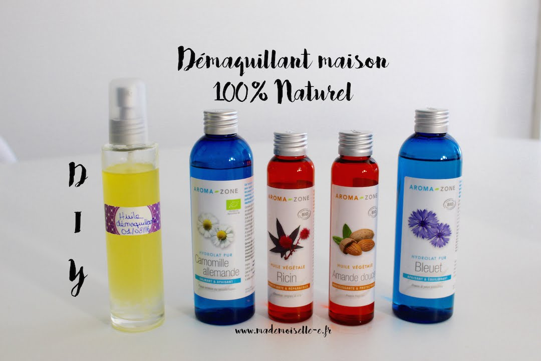 Demaquillant Maison 100 Naturel Diy Youtube