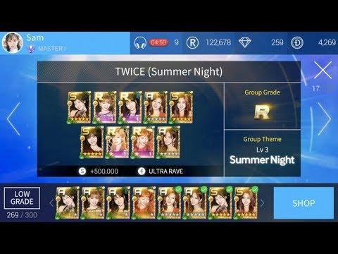 """트와이스 (TWICE) SUPERSTAR JYPNATION """"Summer Nights"""" Group Theme + """"Dance The Night Away"""" [Hard]"""