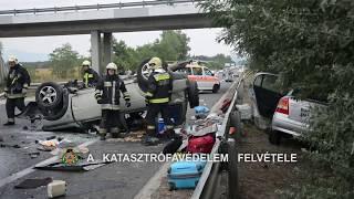Halálos baleset az M2-es autóúton Göd közelében