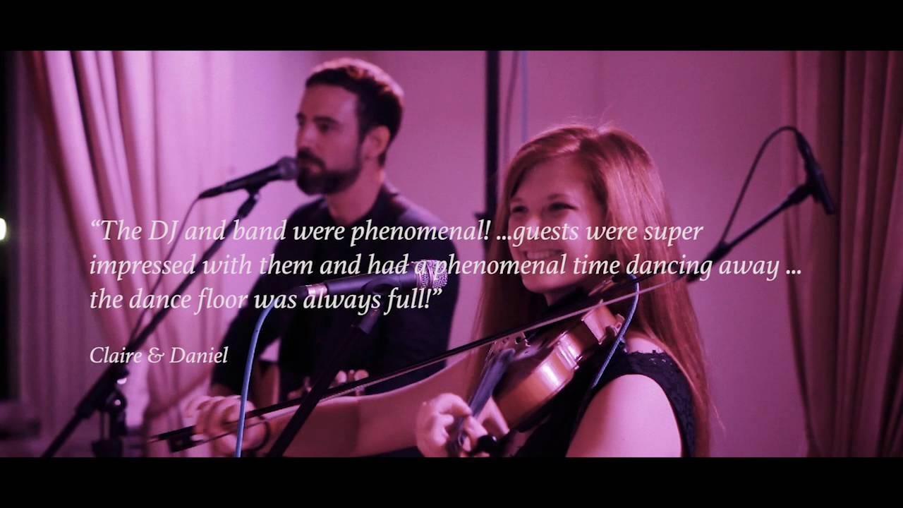 Midnight Revellers Irish Wedding Band Youtube