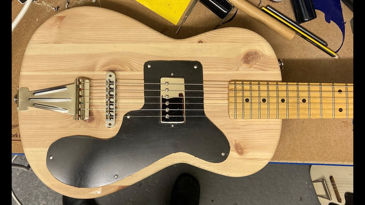 Snakehips-O-Caster guitar build (not finished yet !) - I've still to paint it !