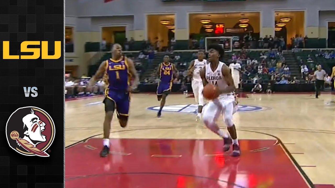 157aa128322 LSU vs. FSU Basketball Highlights (2018-19) - YouTube