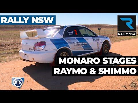 Rally NSW - Monaro Stages Rally - Raymo and Shimmo